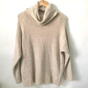 Catherine malandrino cowl neck cozy sweater size M